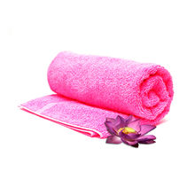 Retro Pool Super Soft Bath Towel Pink,  pink