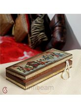Palanquin Gemstone Jewel box (Multicolor)