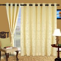 Cortina Stereo 5Ft Curtain, ivory