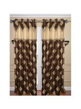 Dreamshomes Set Of 2 Beautiful Polyester Door Curtains, multicolor