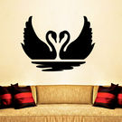 Creative Width Duckie Couple Wall Decal, multicolor, small