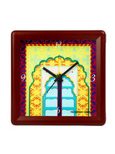 The Elephant Company Shahi Darvazah Turq Alarm Clock, multicolor