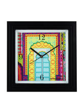 The Elephant Company Alishaan Darvazah Designer Wall Clock, multicolor
