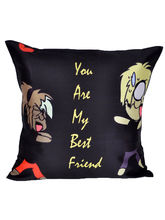 meSleep Best Friends Cushion Cover - Cushion-Friend-Best, multicolor