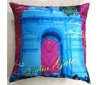 Welhouse India The India Gate 3D Cushion Cover, multicolor