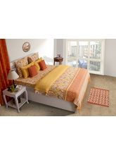 House This Delft Rust 1 Double Duvet Cover, rust