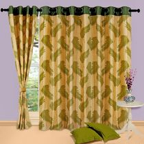Cortina Candy 7Ft Curtain,  green