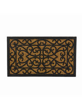 SWHF Rubber and Coir Mat Rectangle, black