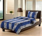 Single Bed Sheet Set with Pillow Cover, design4