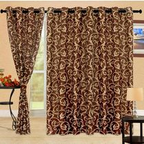 Cortina Bamboo 5Ft Curtain,  coffee