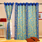 Cortina Charminar 5Ft Curtain,  blue