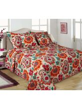 Turu Comforter Set of 5 Blossom, orange