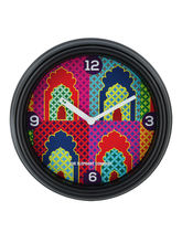 The Elephant Company Mihrab Antique Wall Clock, multicolor
