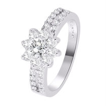 Simaya brings CZ Designer Rhodium Plated Ring (FR 0086)