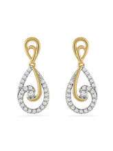 JPEARLS Auroral Diamond Earrings