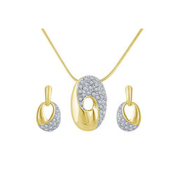 Shriya Delicate Gold Plated Pendant Set