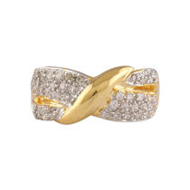 Shriya Gold Plated Austrian Diamond Beautiful Ring