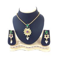 Shriya Lovely Fashionable Nacklace Set With Dangling Earrings