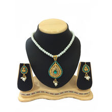 Shriya Beautiful Pearl Austrian Diamond Nacklace Set