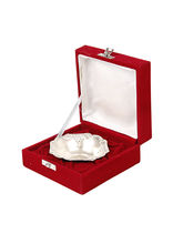 Silver Bowl With Velvet Gift Box By JEWEL FUEL