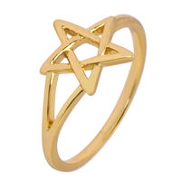 Simaya brings CZ Designer Gold Plated Ring (FR 0042)