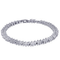 Simaya Brings Rhodium Plated Bracelet - FB 0236