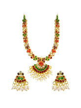 JPEARLS Colourful Necklace Set
