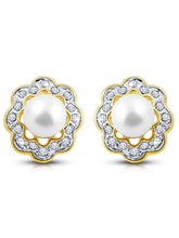 Shriya Contemporary Diamond Earring Set