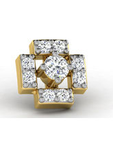Sparkles 0.06ct Diamond Nosepin in 18 Kt Gold & Real Diamonds