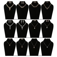 Shriya 12 Austrian Diamond And 18 Karat Gold Plated Combo Nacklace Sets And Pendant Sets