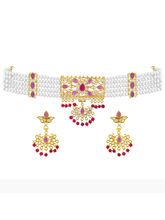 JPEARLS Choker Necklace Set for Women
