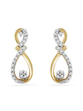 JPEARLS Glossy Diamond Earrings