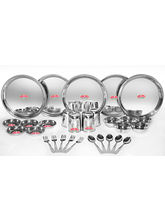 Aristo Majestic 30pcs Stainless Steel Dinner Set, silver