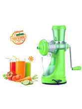 Eco Alpine Fruit & Vegetable Manual Juicer, green