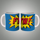 Fancy Ftw Mug, multicolor