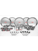Aristo 30pcs Stainless Steel Dinner Set, silver