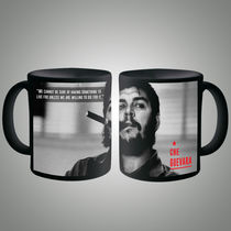 Che Guevera Quote Mug, multicolor