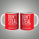 Don't Steal Mug, multicolor