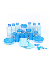 SKI Homeware 23 Pcs Fridge Mate Combo, blue