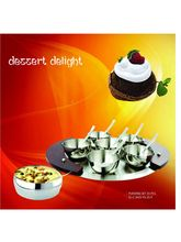 Signoracare Pudding Set of 15 Pcs, silver