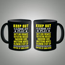 Posterboy Keep out gamer at play Mug, multicolor