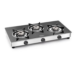 Padmini 3 Burner Gas Stove Cs-3Gt Magma, multicolor