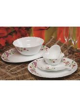 Roxx Pack of 33 Dinner Set (Ceramic), multicolor