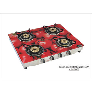 Advanta Premium Tomato AI 4 Burner Gas Cooktop
