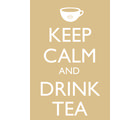 Posterboy Keep calm and drink tea Mug, multicolor
