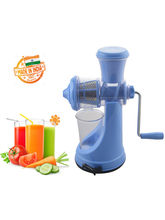 Eco Alpine Fruit & Vegetable Manual Juicer, blue