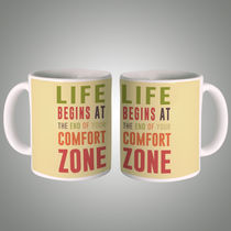 Life Begins At Mug, multicolor