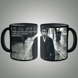 Bob Dylan Quote Mug, multicolor