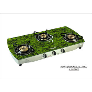 Advanta Premium Mint AI 3 Burner Gas Cooktop