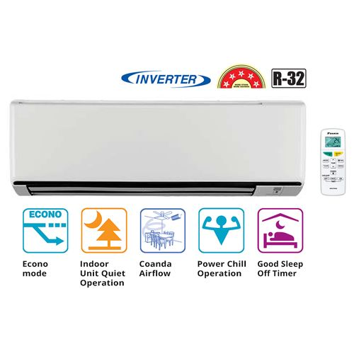 Inverter 5 Star 1.5 Ton Split Air Conditioner_ FTKF50